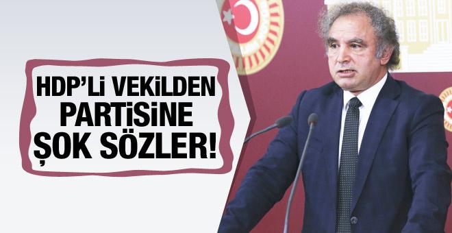 HDP'li Kadri Yıldırım partisini topa tuttu!