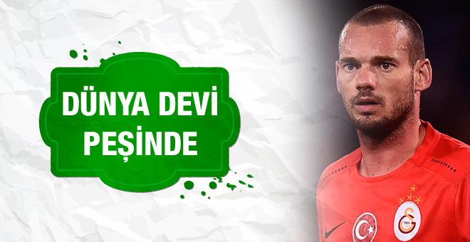 Wesley Sneijder Juventus yolunda
