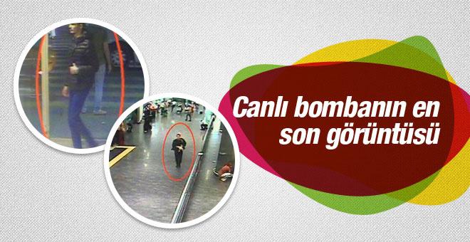 Canlı bombanın son görüntüsü böyle gelmiş!