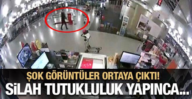 Teröristlerin yeni görüntüleri ortaya çıktı! Silahı tutukluluk yapınca...