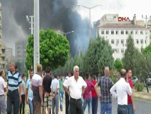 Mardin Midyat patlaması ilk görüntüler