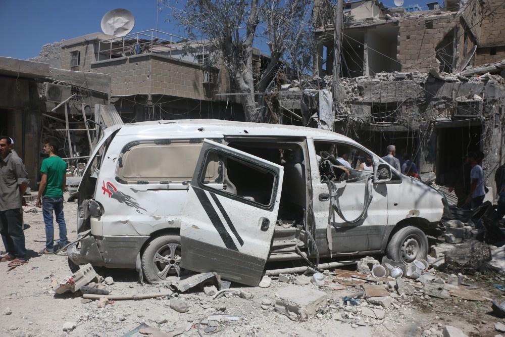 Suriye'den yürek yakan kare! İşte çaresizliğin fotoğrafı