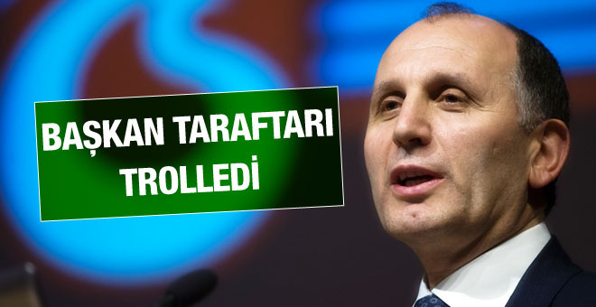 Muharrem Usta Trabzon taraftarını fena trolledi!