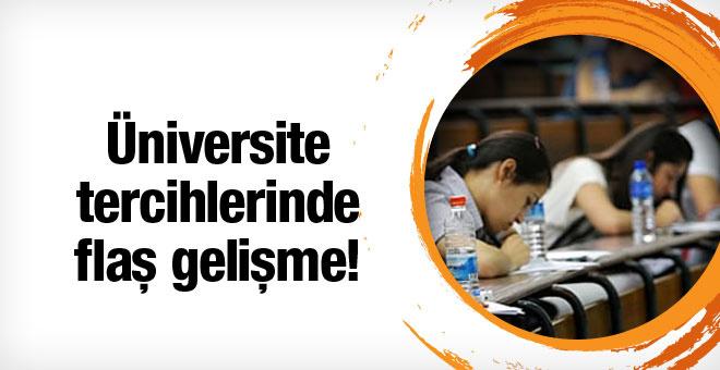 Üniversite tercihleri ertelendi!
