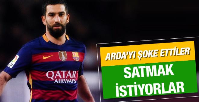 Barcelona Arda Turan'ı satmak istiyor