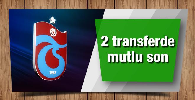 Trabzonspor 2 transferde mutlu sona ulaştı
