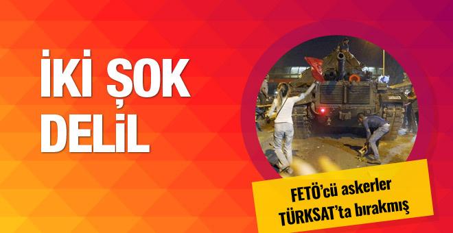 Darbe girişiminde FETÖ'cülerin Türksat'ta bıraktığı 2 şok delil