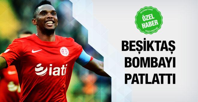 Beşiktaş Samuel Eto'o'yu bitirdi