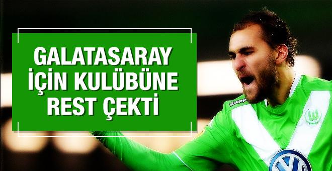 Galatasaray için kulübüne rest çekti!
