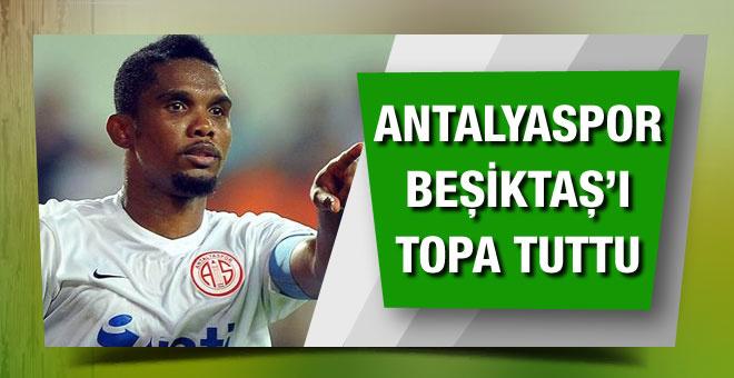 Antalyaspor'dan Beşiktaş'a Samuel Eto'o tepkisi