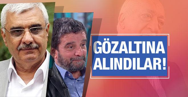 Mümtazer Türköne ve Ali Bulaç gözaltıda!