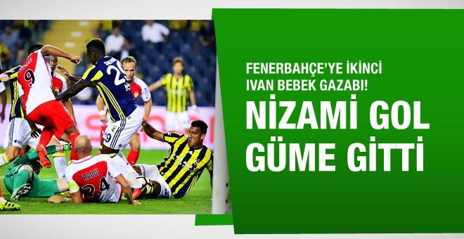 Fenerbahçe'nin buz gibi golü güme gitti