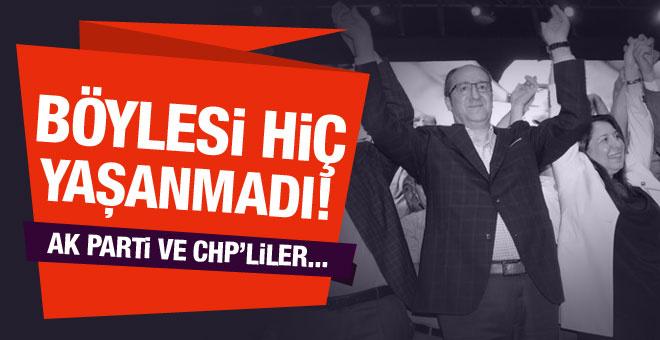 Böylesi daha önce hiç yaşanmadı! AK Parti ve CHP'liler...