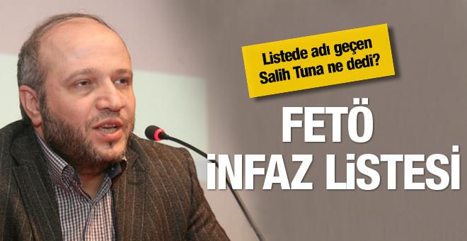 Salih Tuna FETÖ'nün infaz listesini duyurdu