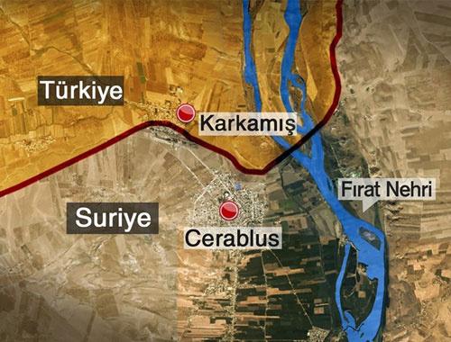 Cerablus operasyonu dikkat IŞİD'ten eylem çağrısı yapıldı!
