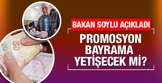 Emekli promosyonu 2016 son durum Soylu açıkladı