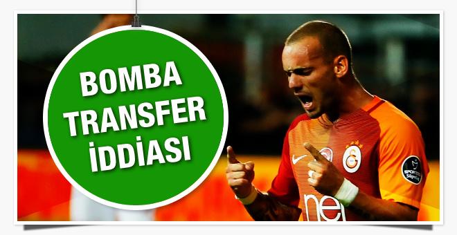 Galatasaray'da bomba Sneijder iddiası
