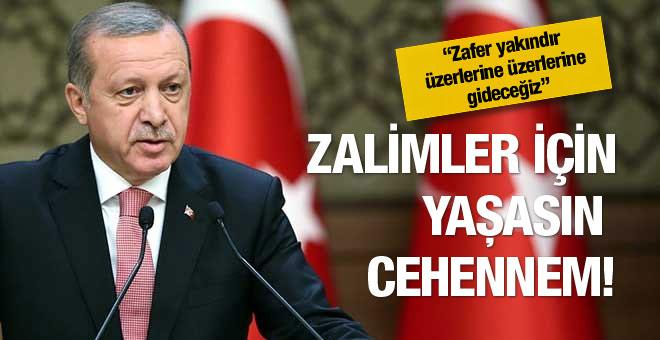 Erdoğan'dan PYD için net mesaj!