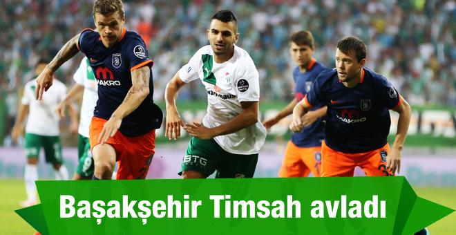 Bursaspor Başakşehir maçının golleri ve özeti