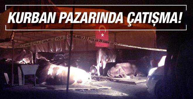 Kurban pazarında dehşet ölenler ve yaralananlar var
