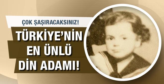 Bu çocuk aslında Türkiye'nin en ünlü din adamı!