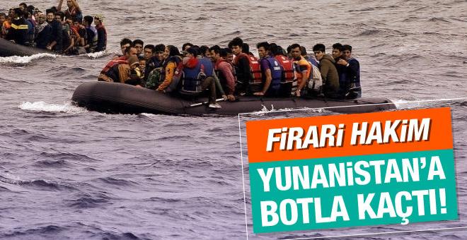 Yunanistan'a botla kaçan hakim sığınma talep etti!