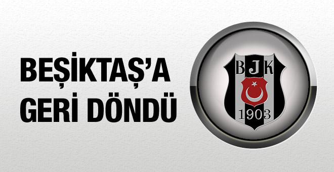 Atınç Nukan Beşiktaş'a geri döndü