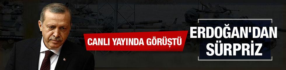 Erdoğan'dan Cerablus sürprizi!