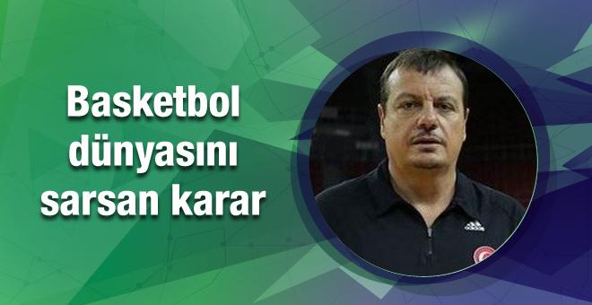 Milli takımda Ergin Ataman şoku