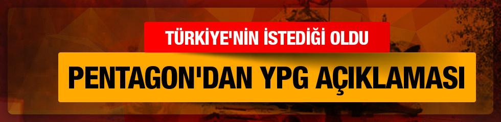 Pentagon: YPG o taahüdünü yerine getirdi!