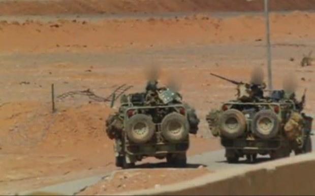İngiliz askerleri Suriye'ye girdi görüntüleri yayınlandı!