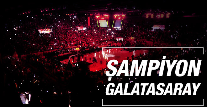 Galatasaray Lokomotiv Kuban'ı devirdi şampiyon oldu
