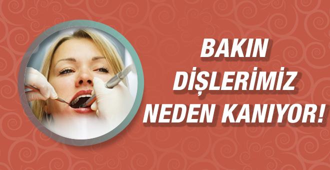 Diş eti neden kanar? Diş eti kanaması nasıl durdurulur?