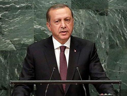 Erdoğan BM'de Fırat Kalkanı'nı anlattı