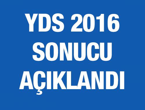YDS sonuçları 2016 ÖSYM sorgulama ekran