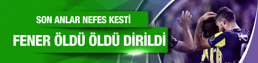 Fenerbahçe Gaziantespor maçı CANLI YAYIN