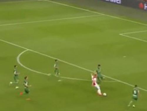 Kasper Dolberg'in golü şahin gözü sayesinde verildi