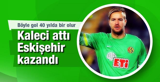 Kaleci Boffin attı Eskişehirspor puanı kaptı!