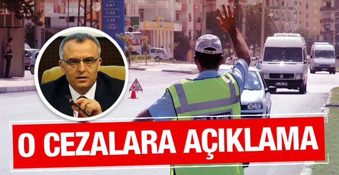 Bakan Ağbal'dan o cezalar için açıklama