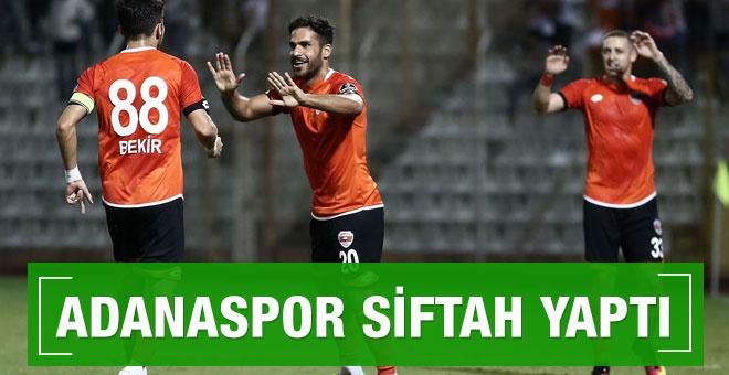 Adanaspor Alanyaspor maçı sonucu ve özeti