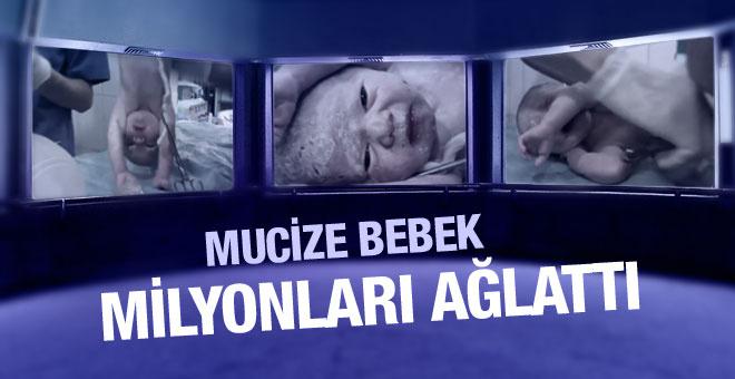 Milyonları ağlatan mucize bebek