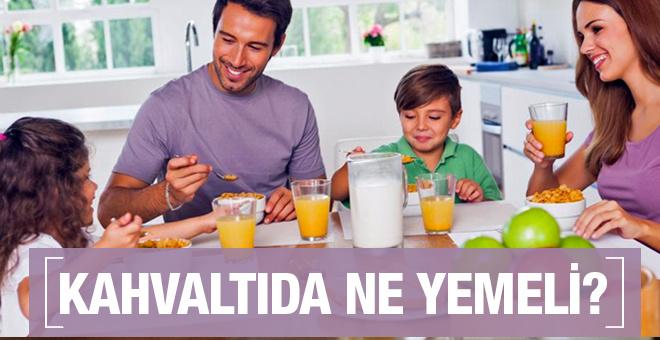 Çocuklar kahvaltıda ne yemeli işte sağlıklı besinler