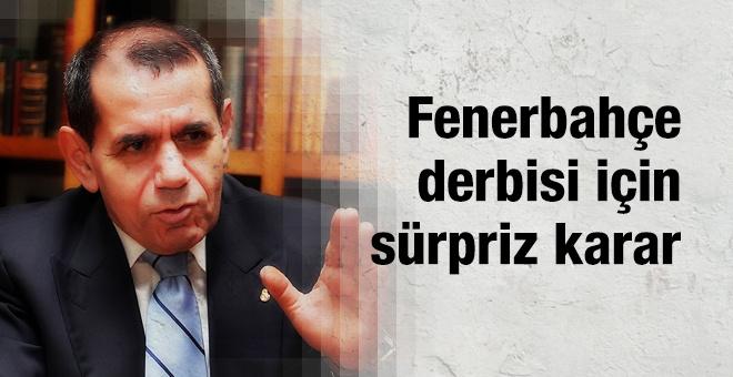 Dursun Özbek'ten flaş Fenerbahçe kararı
