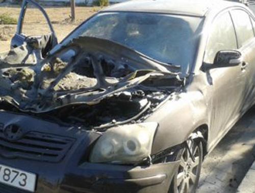 Güney Kıbrıslı hakemin arabasına koyulan bomba patladı