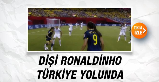 Dişi Ronaldinho Türkiye'ye transfer oldu