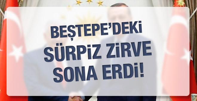 Beştepe'deki kritik güvenlik zirvesi!