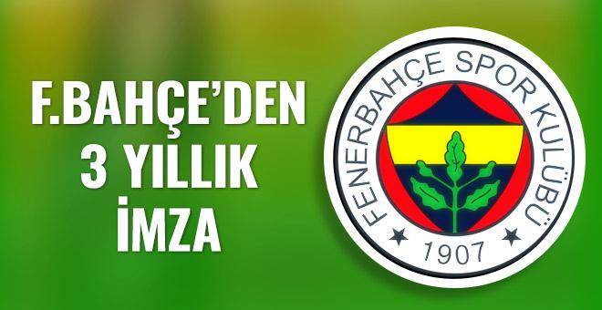 Fenerbahçe ile sözleşme yeniledi