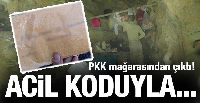 PKK'nın acil mektubu bakın nerede bulundu!