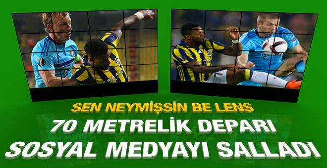 Lens'in deparı sosyal medyayı salladı! Bir de gol olsaydı...