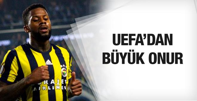 UEFA'dan Jeremain Lens'e büyük onur